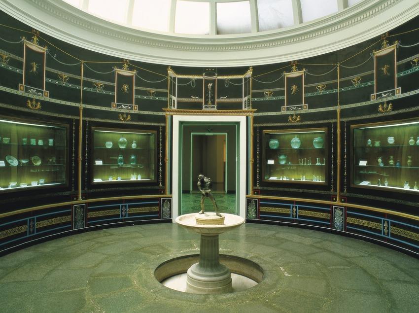 Sala XXII, corresponent a l'època clàssica, del Museu d'Arqueologia de Catalunya (Imagen M.A.S.)
