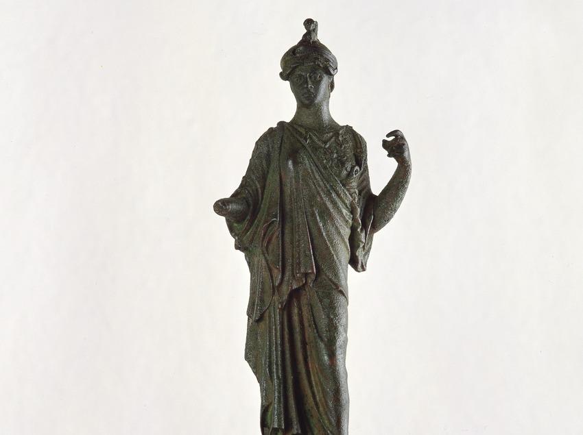 Escultura de bronze romana. Museu d'Arqueologia de Catalunya (Imagen M.A.S.)