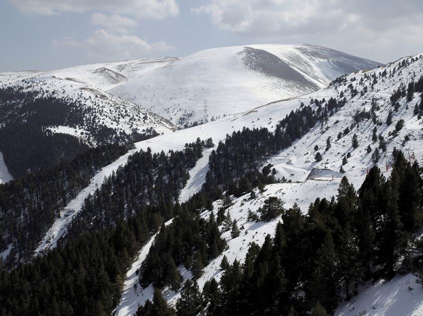 Paisaje alpino en la estación de esquí de La Molina (Nano Cañas)