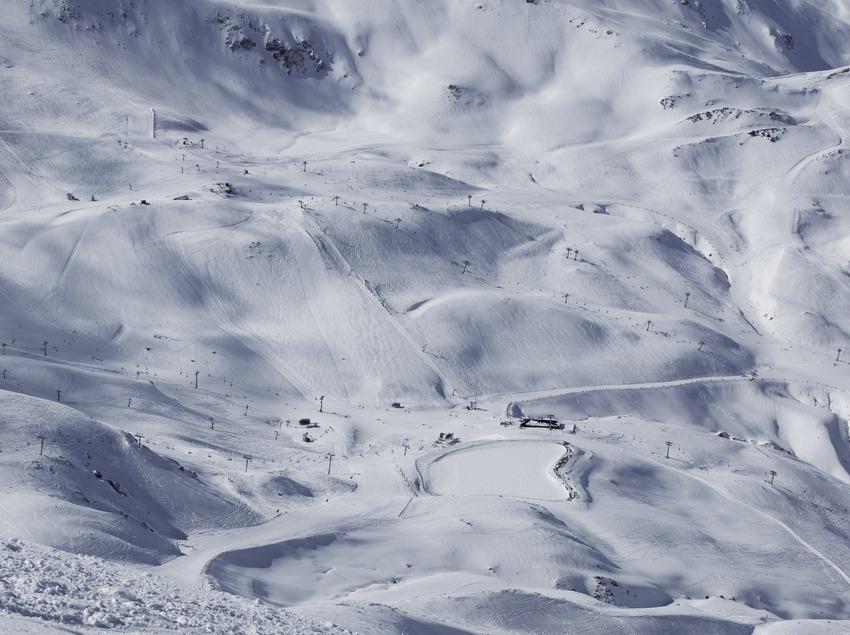 Pistes de l'estació d'esquí de Boí-Taüll (Nano Canas)