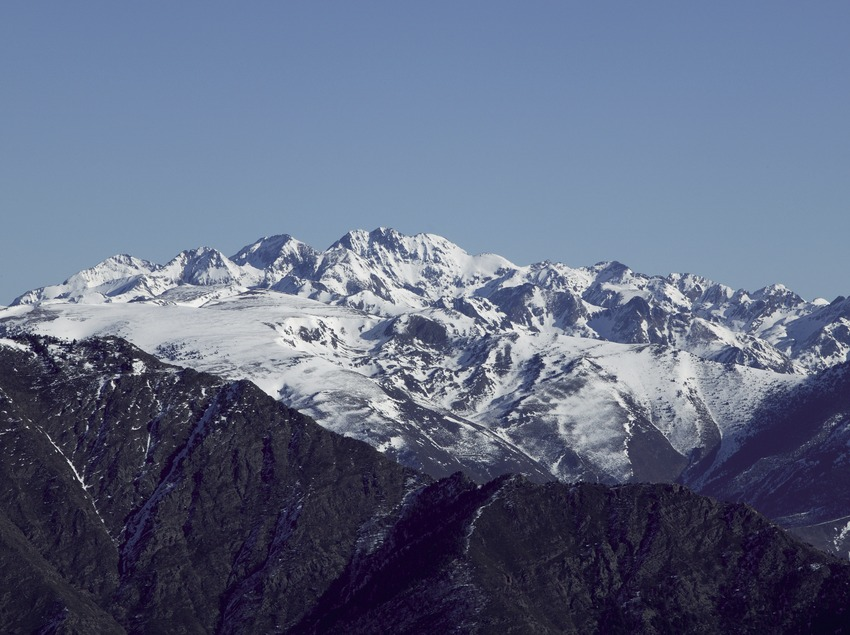 View of the Pyrenees from the Spot Esquí Ski Resort (Nano Canas)