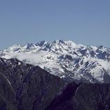 Vista dels Pirineus des de l'estació d'Espot Esquí (Nano Canas)