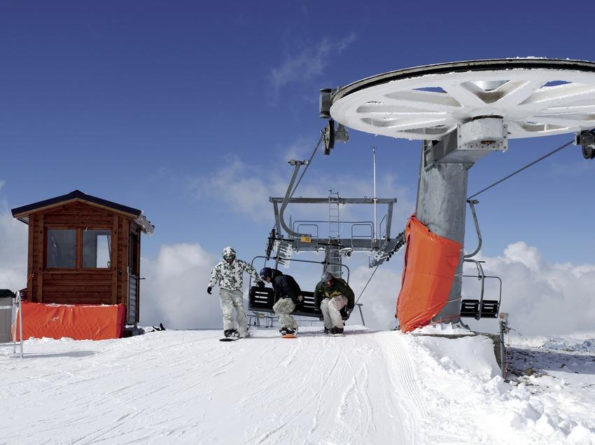 Telesilla en la estación de esquí de Boi-Taüll (Nano Canas)