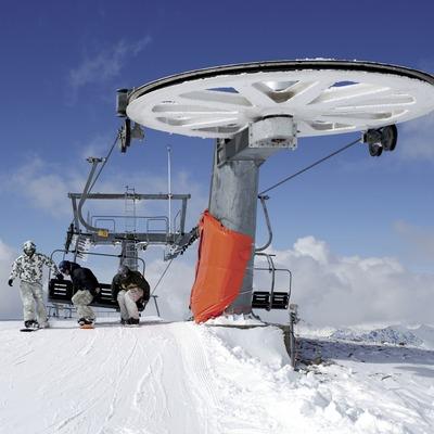 Telecadira a l'estació d'esquí de Boí-Taüll (Nano Canas)