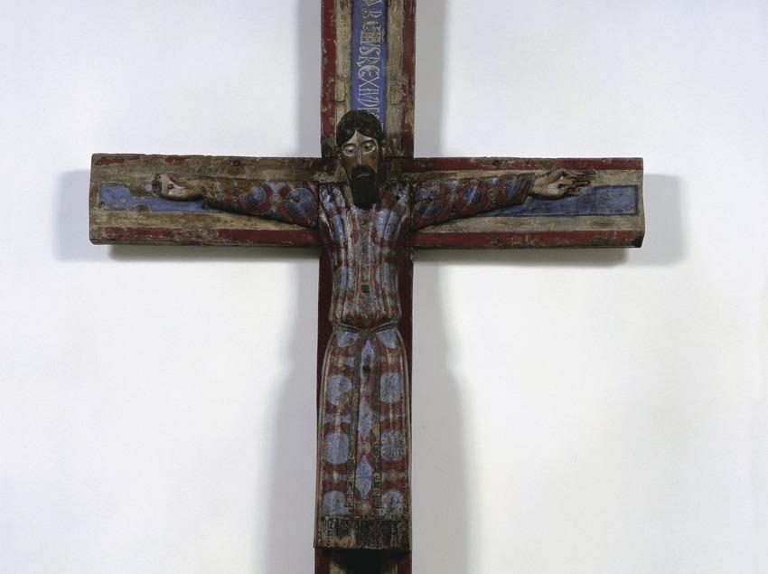 Majestat Batlló (segle XII). Museu Nacional d'Art de Catalunya  (Imagen M.A.S.)