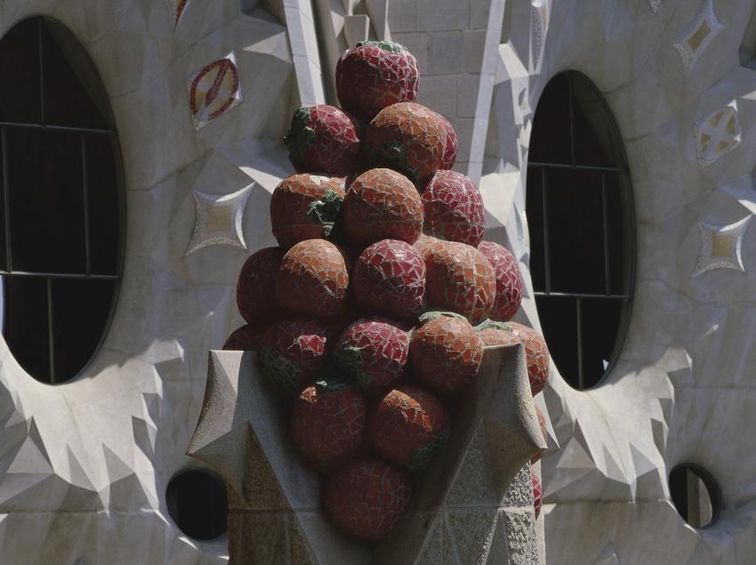 Detall d'un pinacle del Temple Expiatori Sagrada Família (Imagen M.A.S.)