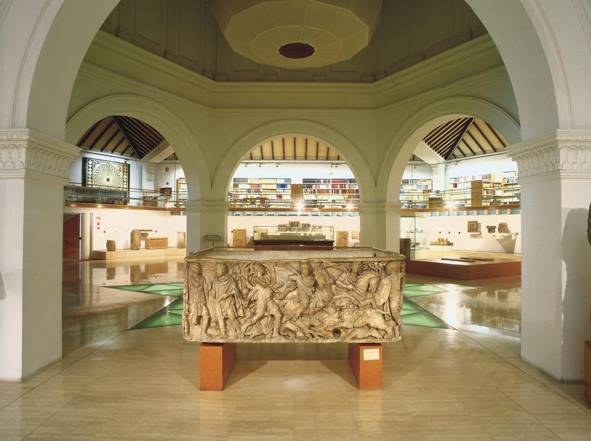 Sala XIX, corresponent a l'època romana, del Museu d'Arqueologia de Catalunya (Imagen M.A.S.)