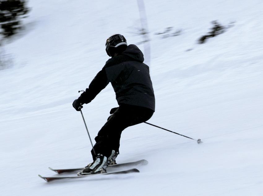 Skieur à la station de Tavascan (Nano Canas)
