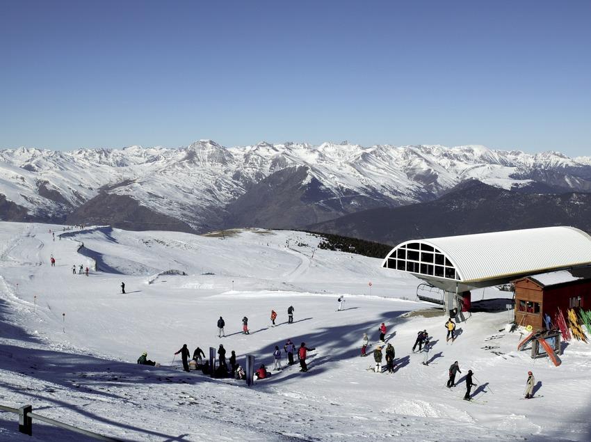 Skigebiet von Port Ainé