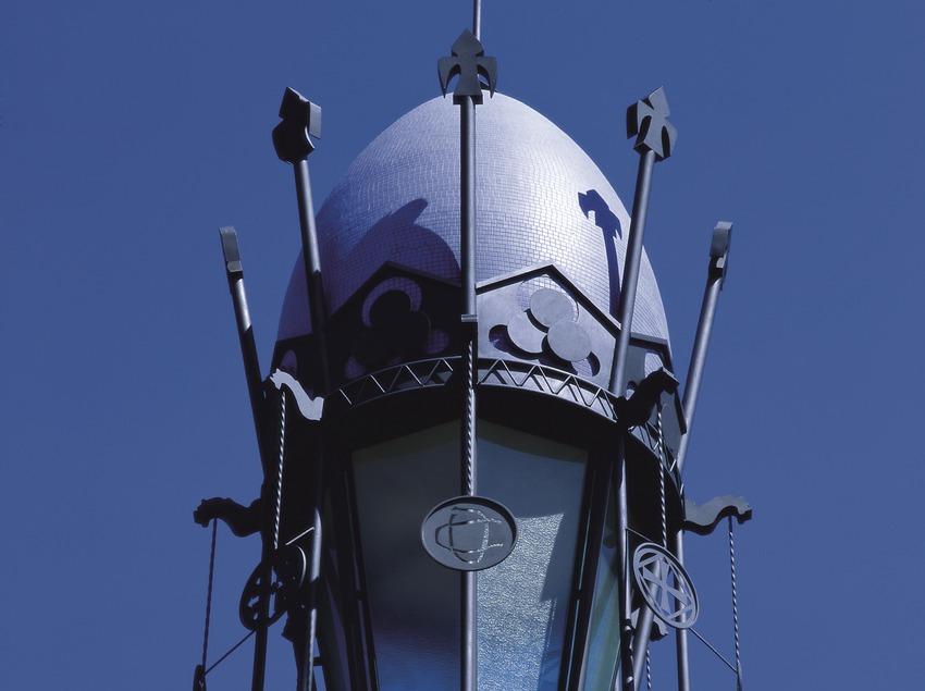 Cúpula esfèrica del Palau de la Música Catalana  (Imagen M.A.S.)