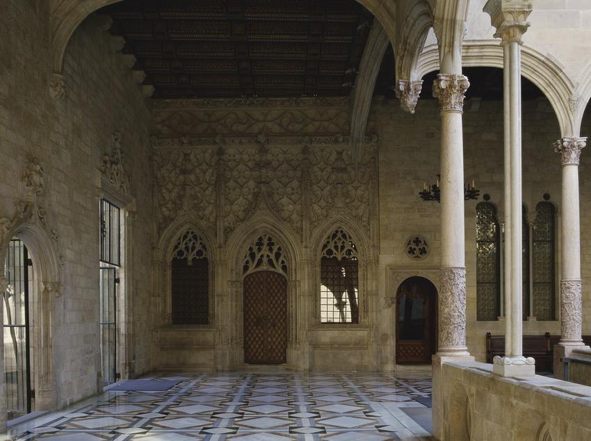 Galería gótica del Palau de la Generalitat (Imagen M.A.S.)