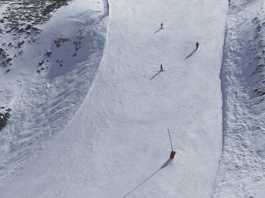 Лыжные трассы на горнолыжном курорте Мазелья (Nano Canas)