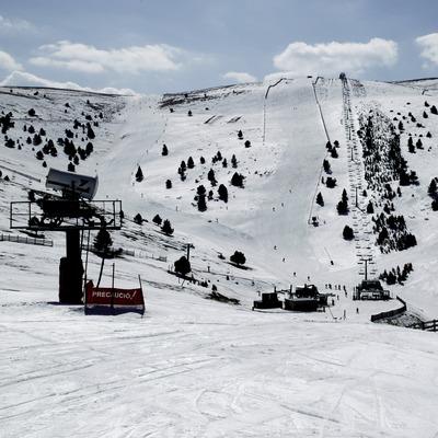 Pista d'esquí a l'estació de La Molina (Nano Canas)