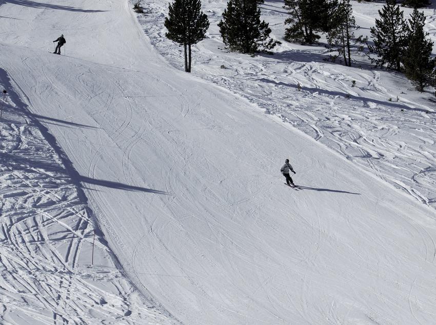 Piste de ski à la station de Port Ainé (Nano Canas)