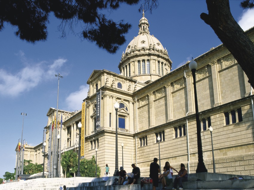 Exterior del Museu Nacional d'Art de Catalunya  (Imagen M.A.S.)