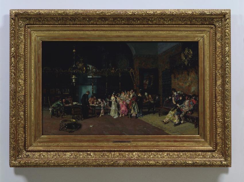 La vicaria (1870), de Marià Fortuny. Museu Nacional d'Art de Catalunya  (Imagen M.A.S.)