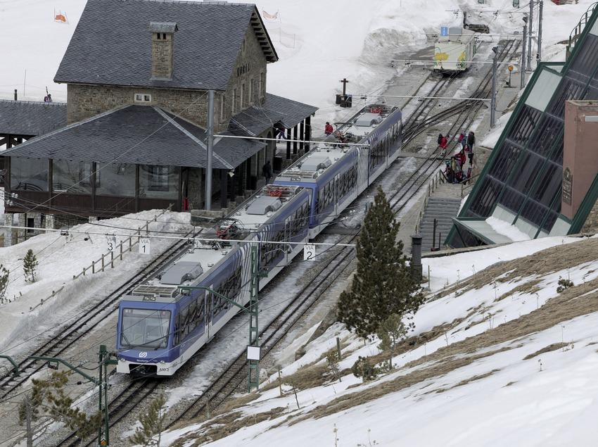 Nuria rack railway