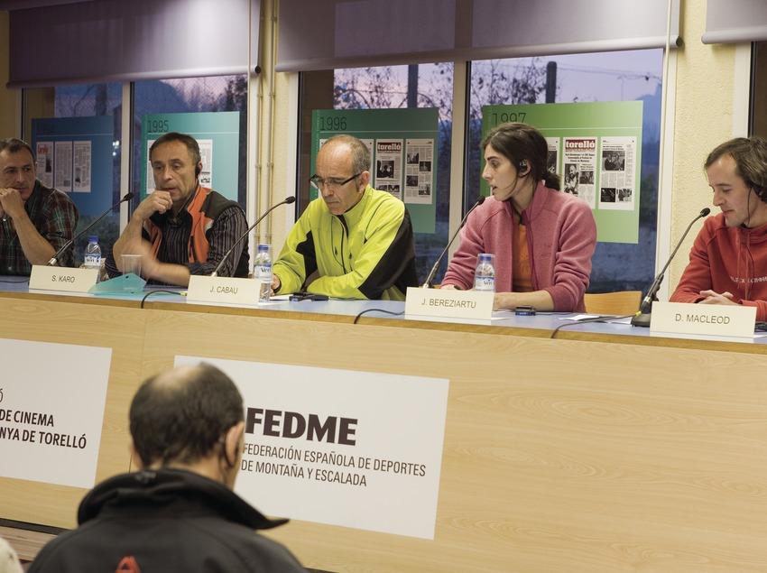 Présentation du Festival international de cinéma de montagne et d'aventure (Oriol Llauradó)