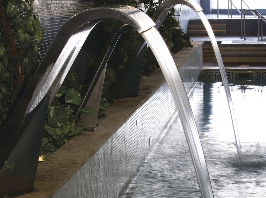 Instalaciones termales del Hipócrates Curhotel.  (Nano Cañas)