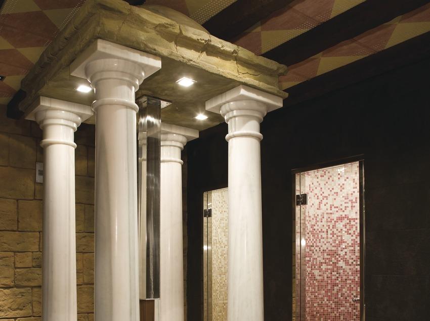 Instalaciones termales del hotel Golf Wine Spa Peralada.  (Nano Cañas)