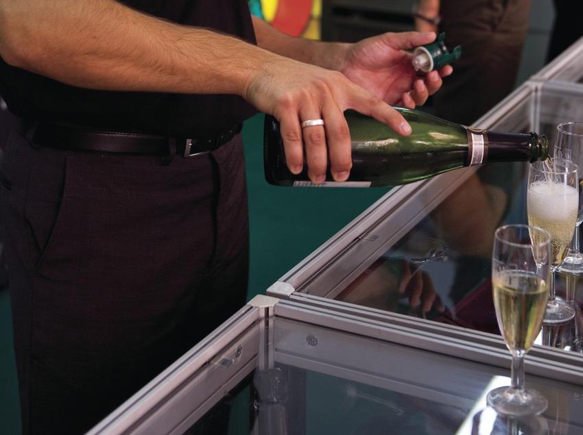 Стенд на Неделе игристого вина «кава» (Oriol Llauradó)