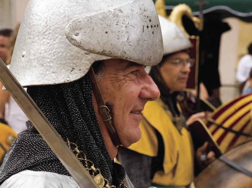 """Cavallets"" (little horses) during the Festivities of Santa Tecla (Oriol Llauradó)"