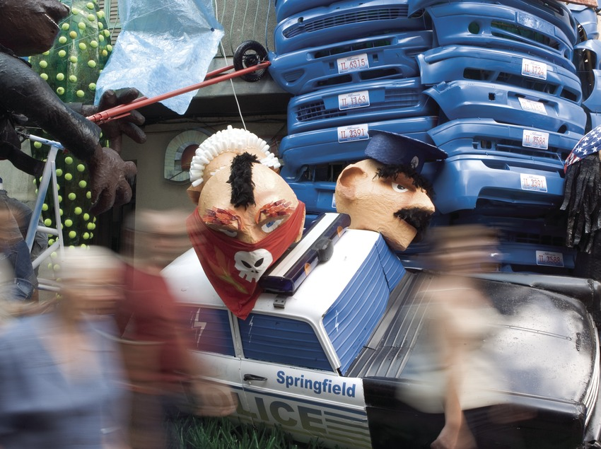 Carrer Verdi ornamentat durant les Festes de Gràcia (Oriol Llauradó)
