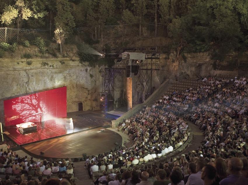 Spectacle d'Ana Belén au théâtre Grec pendant le GREC Festival de Barcelone (Oriol Llauradó)