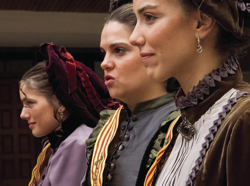 Pubilles durant la Festa dels Tres Tombs (Oriol Llauradó)