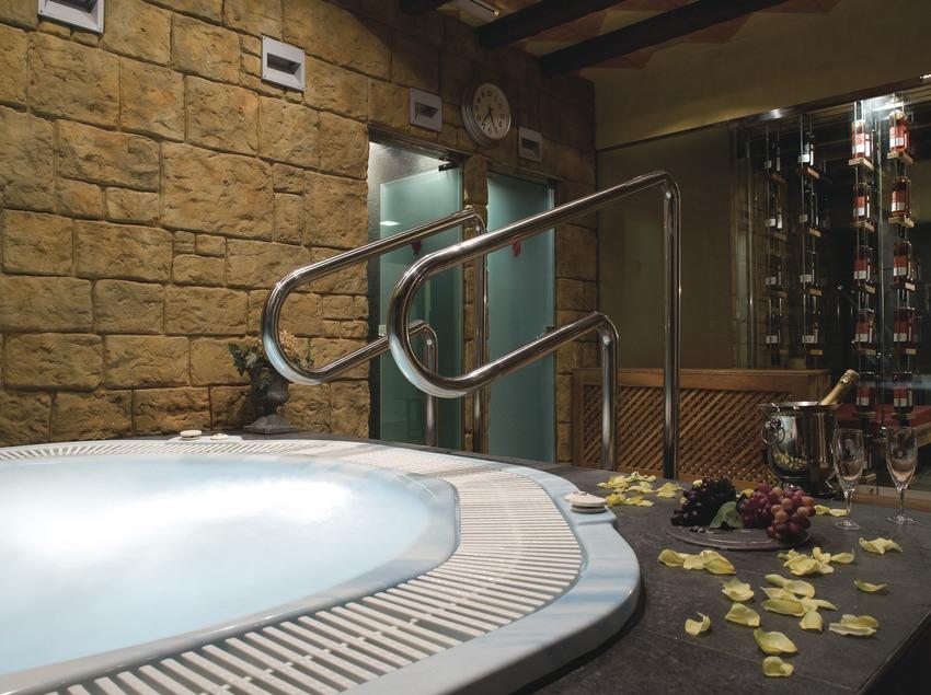 Instalaciones termales del hotel Golf Wine Spa Peralada.