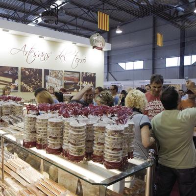 Paradas del recinto ferial durante la Feria del Turrón (Oriol Llauradó)