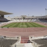 Panorámica del Estadio Olímpico Lluís Companys, Montjuïc