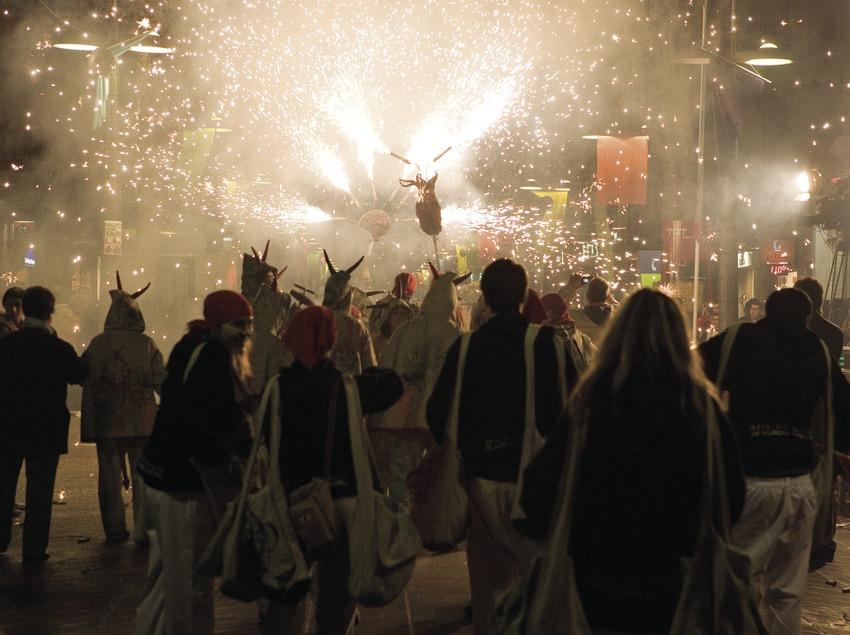 Diablo durante el Carnaval (Oriol Llauradó)