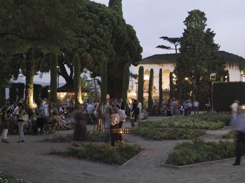 Jardins du théâtre Grec pendant le GREC Festival de Barcelone (Oriol Llauradó)
