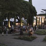 Jardines del teatro Grec durante el GREC Festival de Barcelona (Oriol Llauradó)