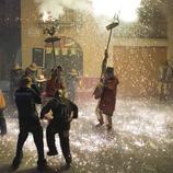 Diablos durante el correfoc de la Fiesta de Santa Tecla (Oriol Llauradó)