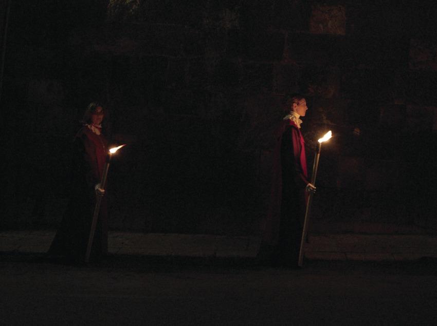 Processó durant la Setmana Santa de Tarragona (Oriol Llauradó)