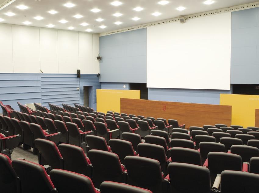 Auditorio de la Universitat Pompeu Fabra (UPF) (Oriol Llauradó)