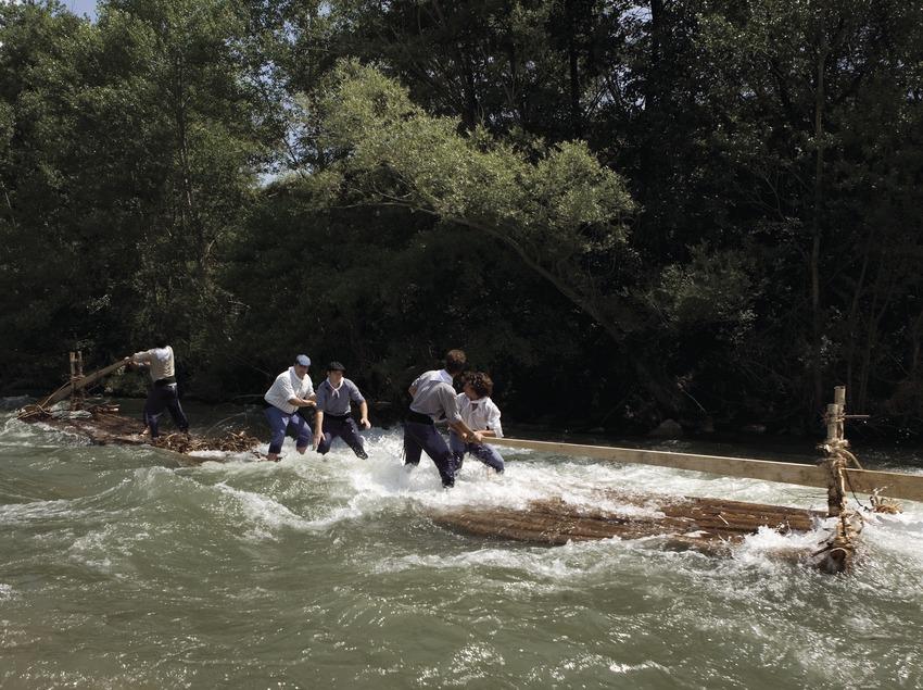 Descenso por el río durante la Diada dels Raiers (Oriol Llauradó)