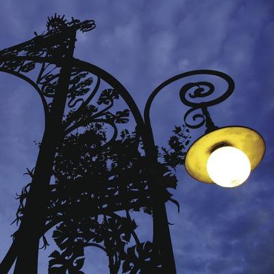 Fanal modernista del passeig de Gràcia  (Lluís Carro)