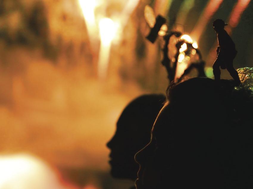 Piromusical de les festes de la Mercè  (Lluís Carro)
