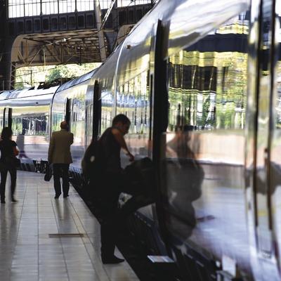 Andana de l'estació de França  (Lluís Carro)