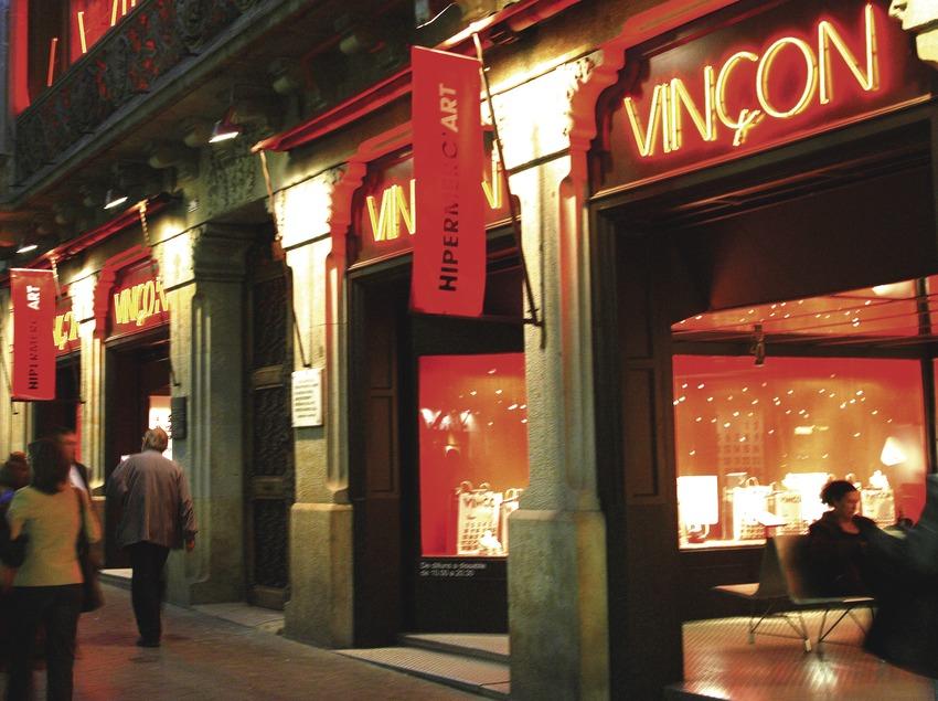 Exterior de la tienda Vinçon.  (Lluís Carro)