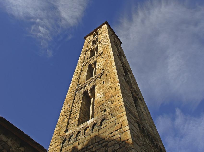 Iglesia de Santa Eulàlia d'Erill de Vall.