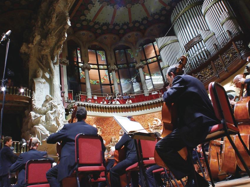 Concert de l'Orquestra Ciutat de Barcelona al Palau de la Música  (Lluís Carro)