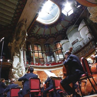 Concierto de la Orquetra Ciutat de Barcelona en el Palau de la Música.  (Lluís Carro)
