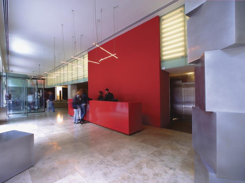 Recepció de l'Hotel Omm  (Lluís Carro)