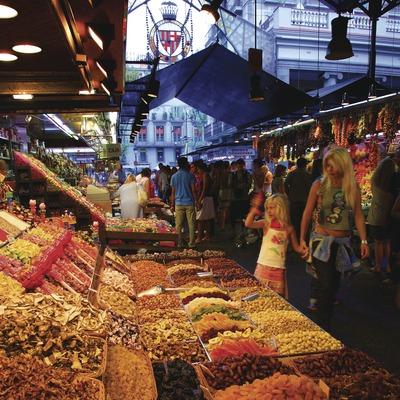 Parada del mercat de La Boqueria