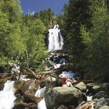 Cascada de Ratera al Parc Nacional d'Aigüestortes i Estany de Sant Maurici