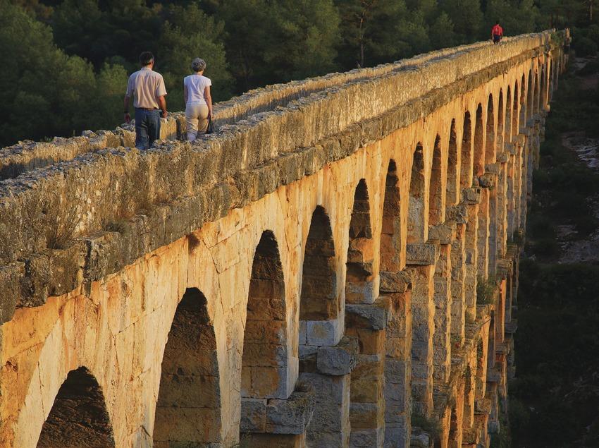 Acueducto romano de Les Ferreres o Pont del Diable.  (Lluís Carro)